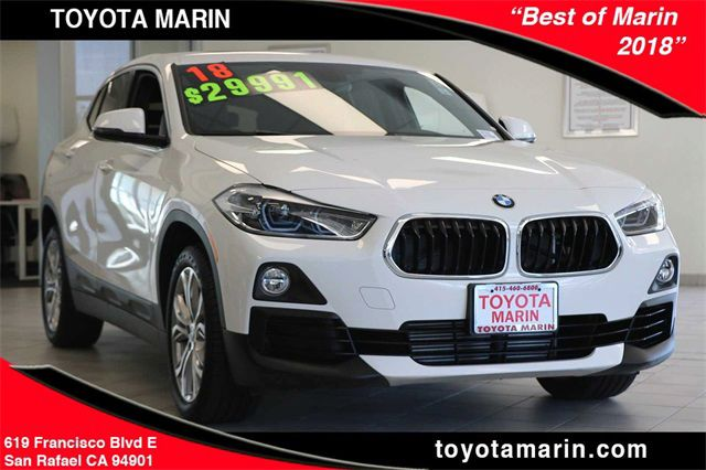 Used 2018 Bmw X2 For Sale Near Ross Ca Toyota Marin