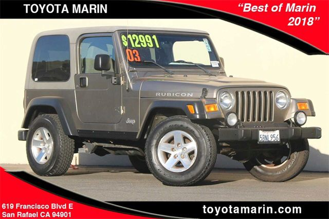 Used 2003 Jeep Wrangler For Sale Near 94112 Ca Toyota Marin